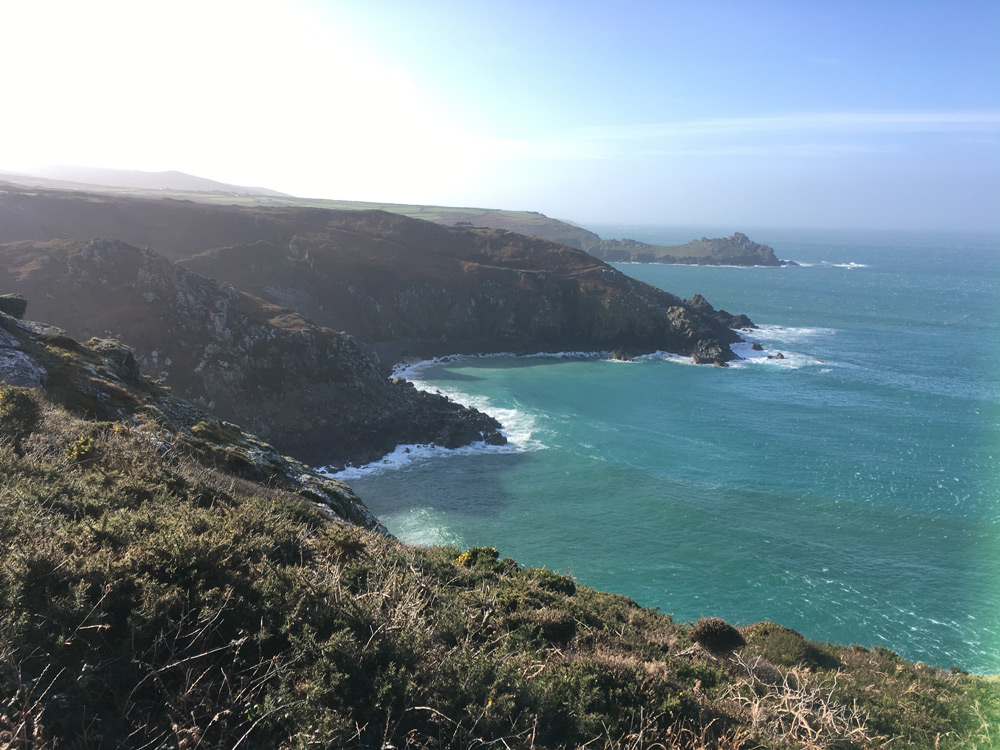 running sttorm doris at Zennor